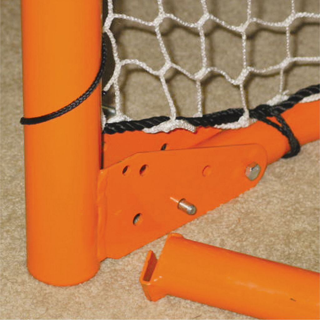 EZ Goal Lacrosse Goal with Rebounder