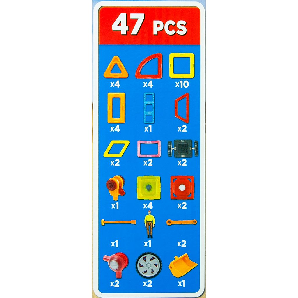 Magformers 60-pc. Power Gear Set