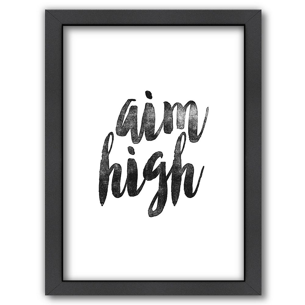 "Americanflat ""Aim High"" Framed Wall Art"