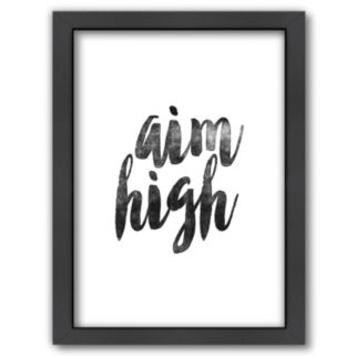 "Americanflat ""Aim High"" Framed Wall Art"