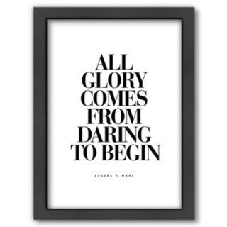 "Americanflat ""All Glory"" Framed Wall Art"