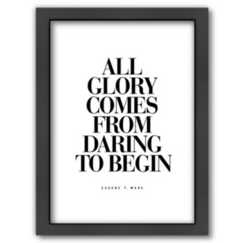 "Americanflat ""All Glory"" Framed Wall Art"
