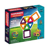 Magformers 26 pc Neon The Best Starter Set