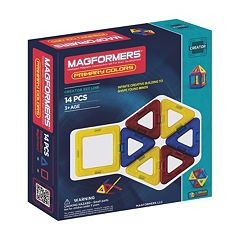 Magformers 14 pc Designer Set Primary Color Set