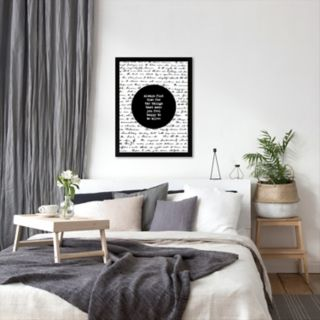 """Americanflat """"Always Find Time"""" Framed Wall Art"""