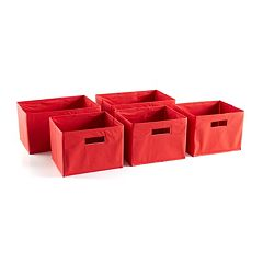 Guidecraft 5-pc. Fabric Bin Set