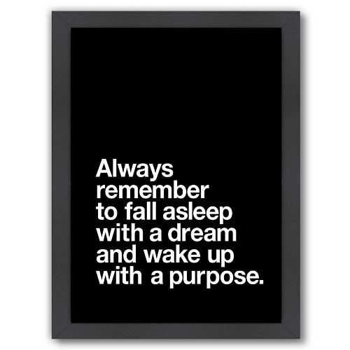 "Americanflat ""Always Remember"" Framed Wall Art"