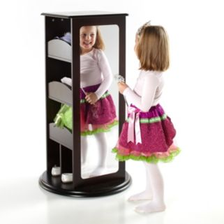 Guidecraft Rotating Storage Dress-Up Carousel