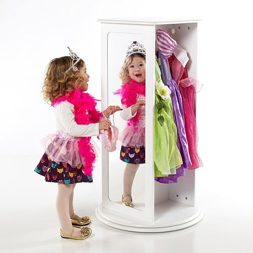 Guidecraft Rotating Storage Dress Up Carousel