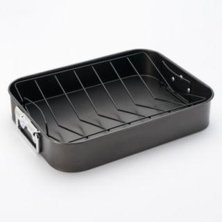 Basic Essentials 16-in. Carbon Steel Nonstick Roaster
