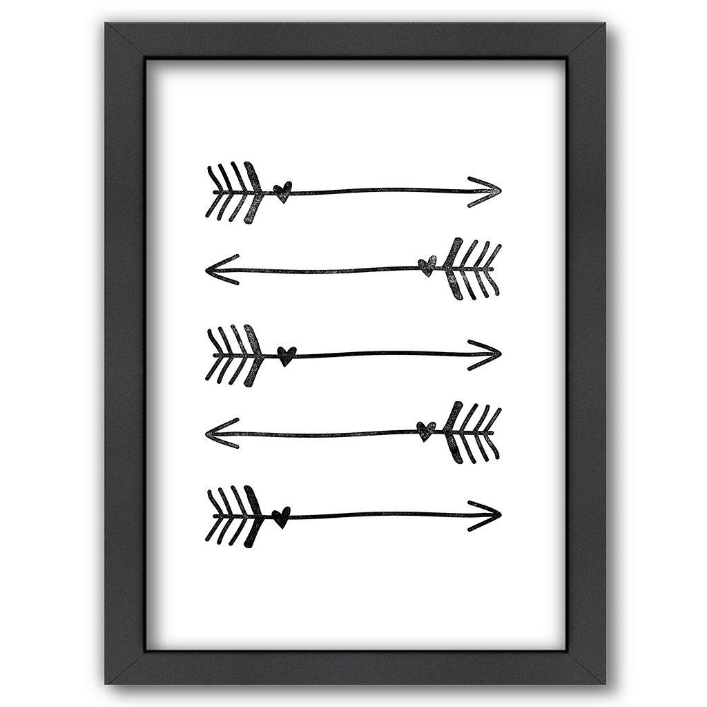 Americanflat Arrows Framed Wall Art