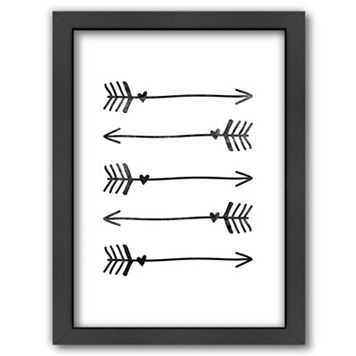 Americanflat Arrows Framed Wall Art