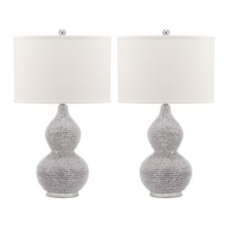 Safavieh 2-piece Nicole Lamp Set