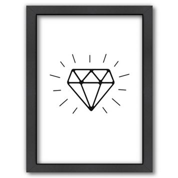 Americanflat Diamond Framed Wall Art
