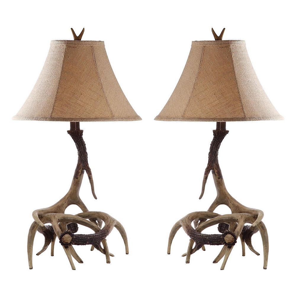 Safavieh Sundance Faux Antler Table Lamp 2-piece Set