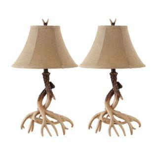 Safavieh Sundance Faux Antler Table Lamp 2-piece Set