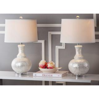Safavieh 2-piece Gourd Table Lamp Set