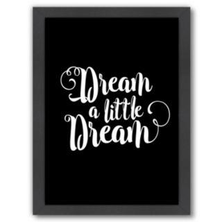 """Americanflat """"Dream A Little Dream"""" Framed Wall Art"""