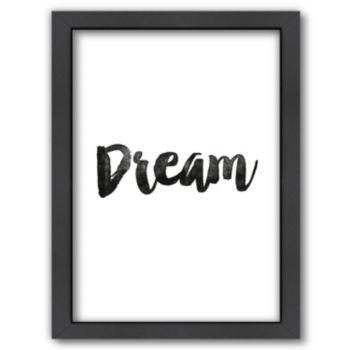 "Americanflat ""Dream"" Framed Wall Art"