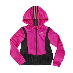 Girls 4-6x adidas climawarm Twirl Trainer Hooded Jacket