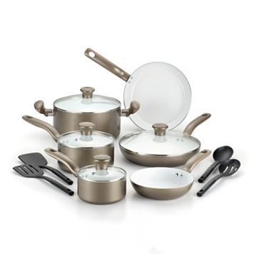 T-Fal Inspirations 14-pc. Ceramic Cookware Set