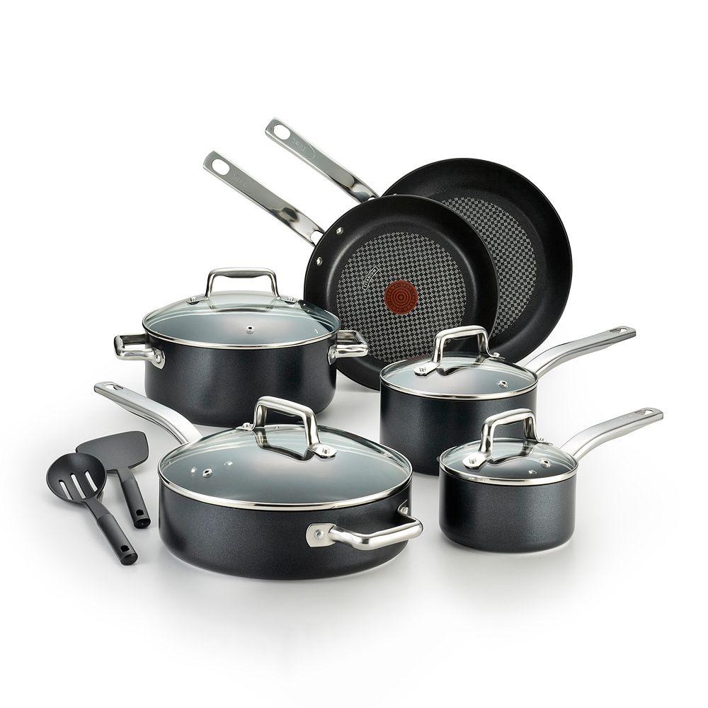 T-Fal Pro Grade Titanium 12-pc. Nonstick Cookware Set