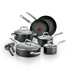 T-Fal Pro Grade Titanium 12 pc Nonstick Cookware Set