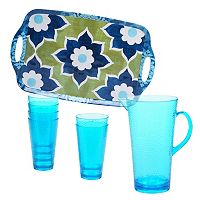Certified International Barcelona by Jennifer Brinley 8-pc. Beverage Set