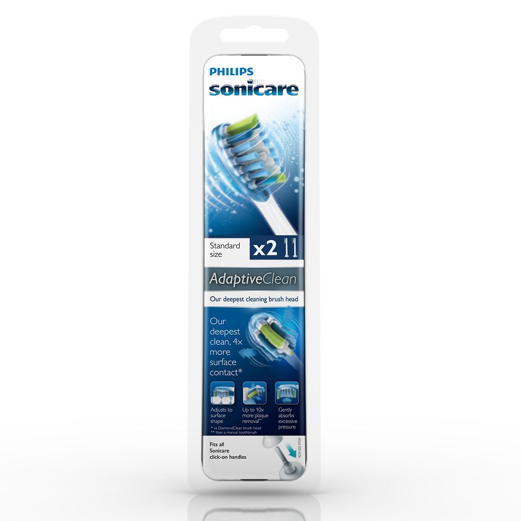 Sonicare AdaptiveClean 2-pack Replacement Brush Heads