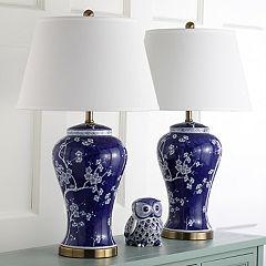 Safavieh 2 pc Spring Blossom Table Lamp Set