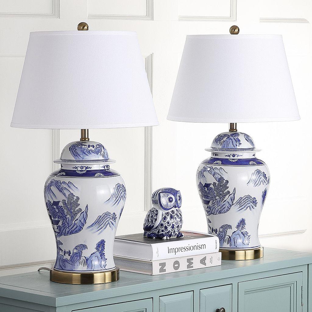 Safavieh 2-piece Shanghai Ginger Jar Lamp Set