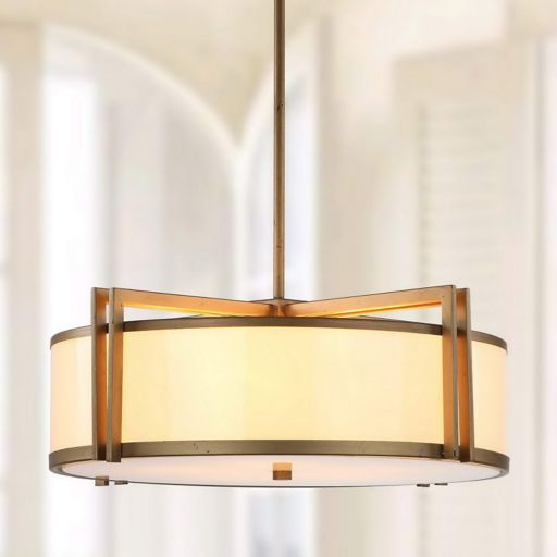 Safavieh Orb Drum Pendant Lamp