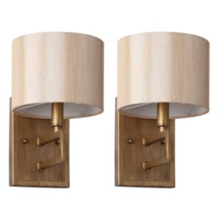 Safavieh Catena 2-piece Wall Sconce Set