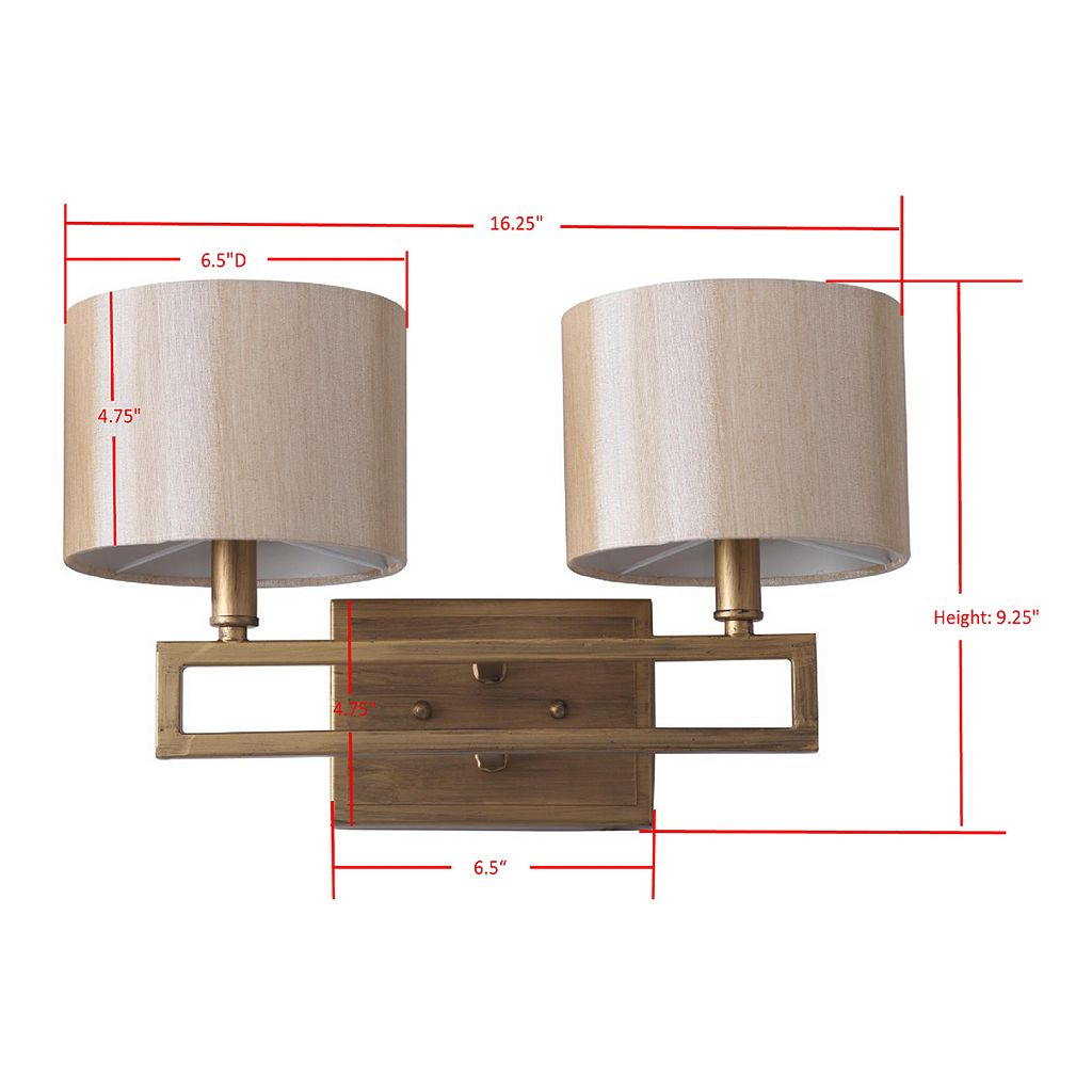 Safavieh Catena Double Light Sconce