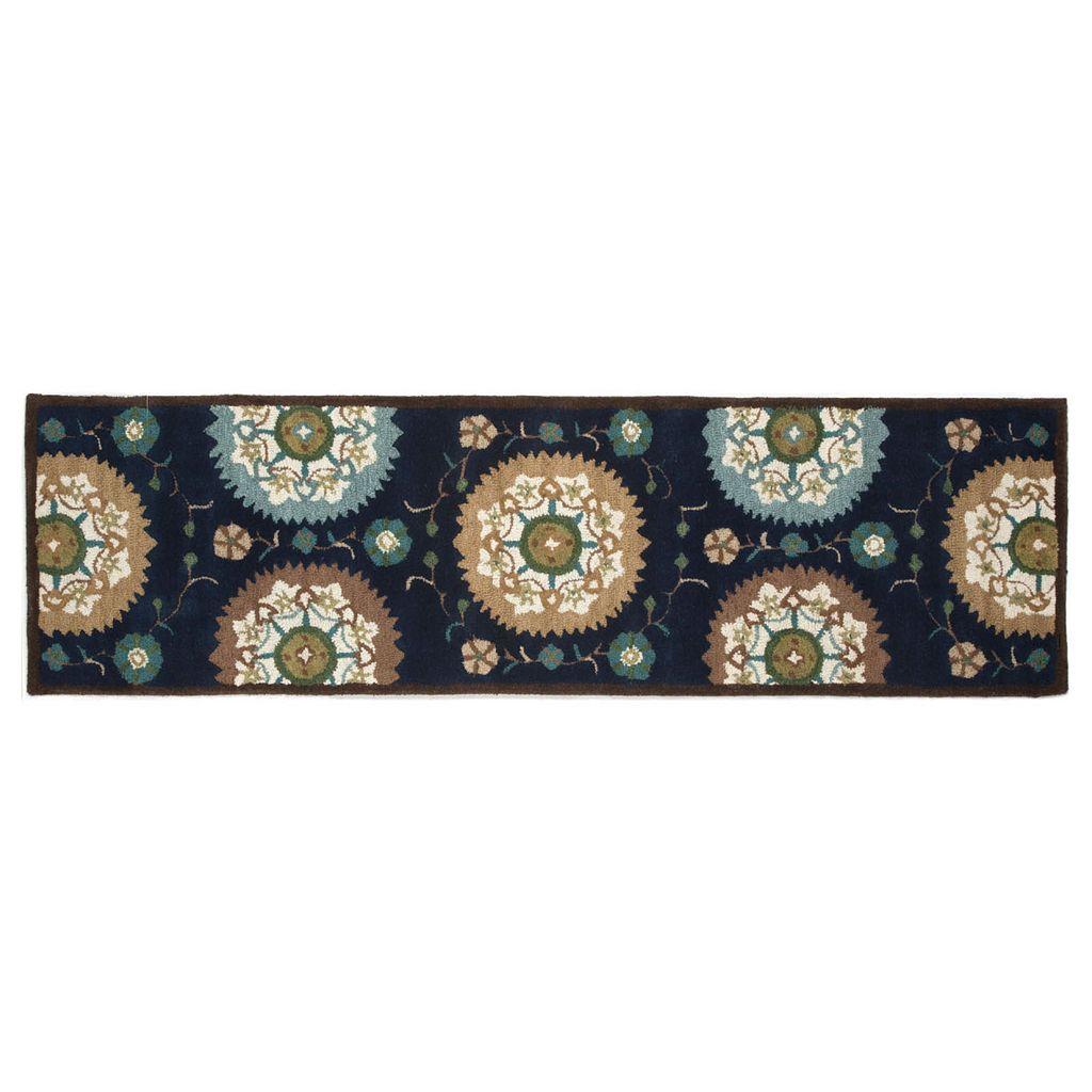 Trans Ocean Imports Liora Manne Seville Suzani Floral Wool Rug