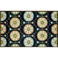 Trans Ocean Imports Liora Manne Seville Suzani Floral Wool Rug