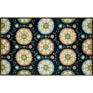 Liora Manne Seville Suzani Floral Wool Rug
