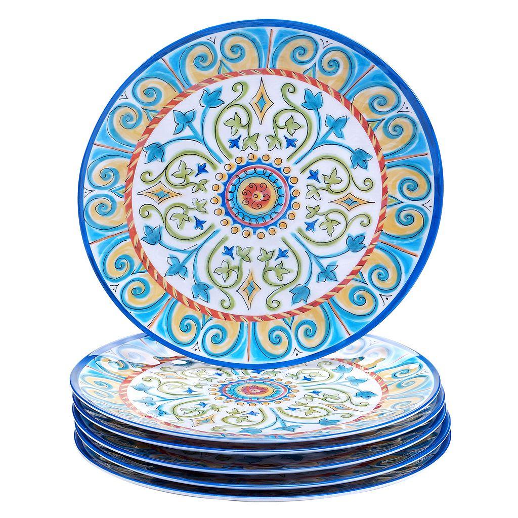 Certified International Tuscany by Joyce Shelton 6-pc. Melamine Dinner Plate Set