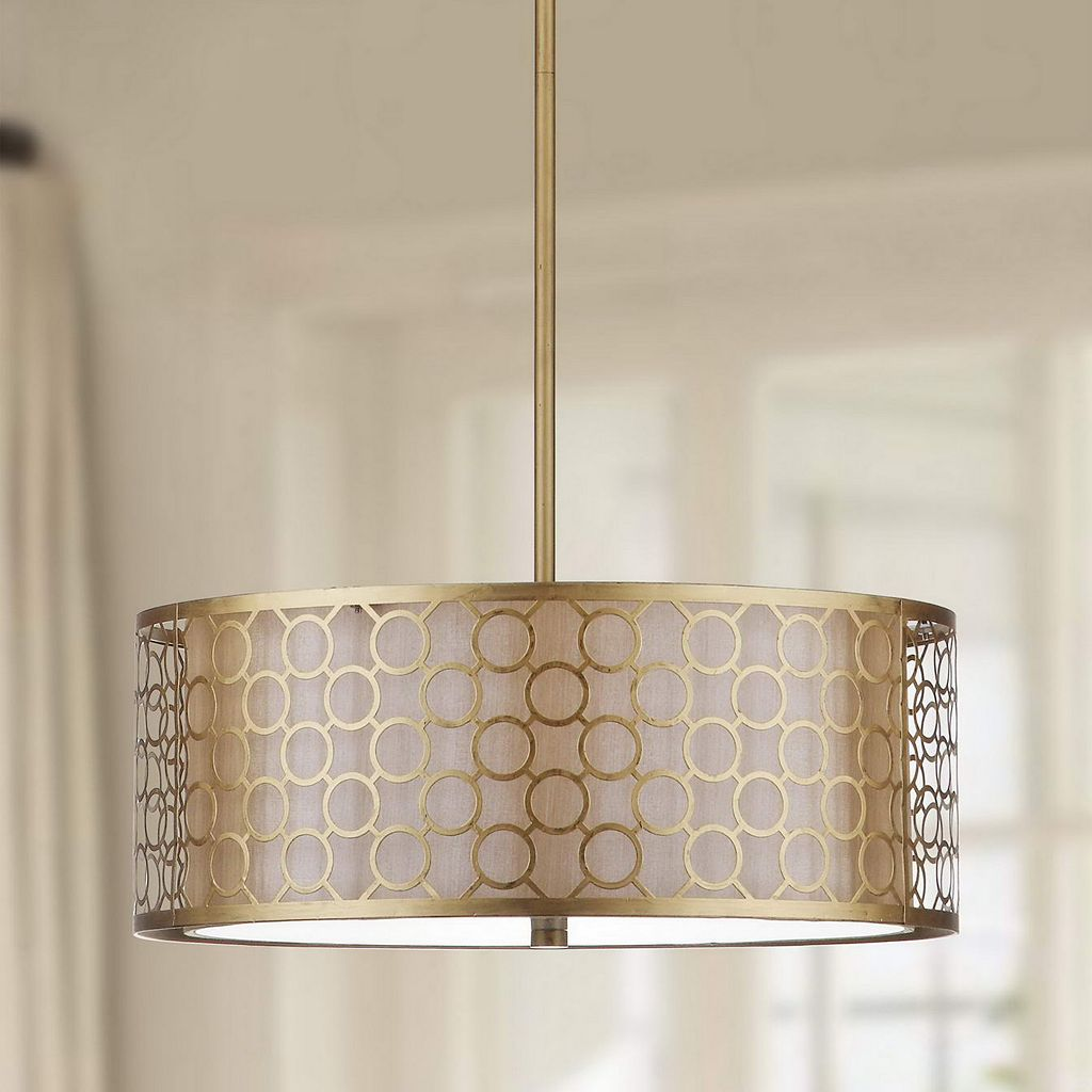 Safavieh Giotta Drum Pendant Light