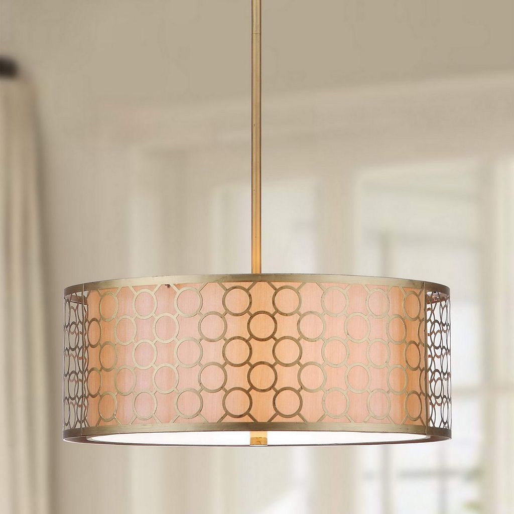 Safavieh Giotta Drum Pendant Light