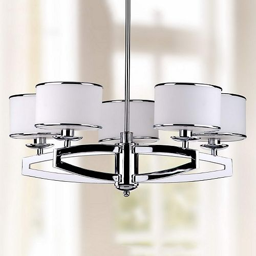 Safavieh Lenora Drum Pendant Light
