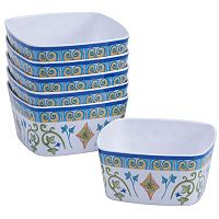 Certified International Tuscany by Joyce Shelton 6-pc. Melamine Ice Cream Bowl Set