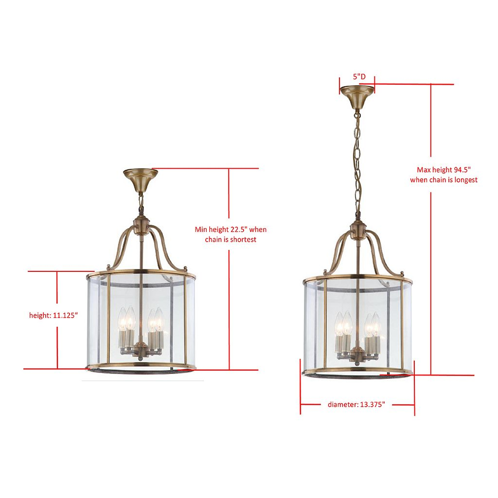 Safavieh Sutton Place Medium Pendant Light