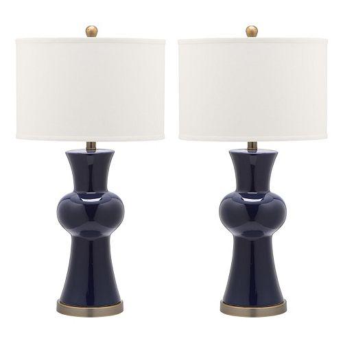 Safavieh 2-piece Lola Table Lamp Set
