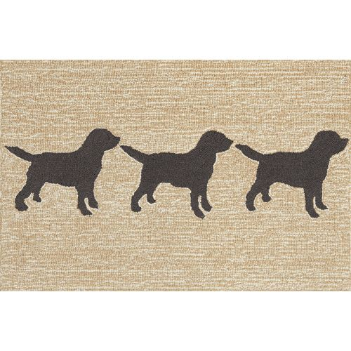 Liora Manne Frontporch Doggies Indoor Outdoor Rug