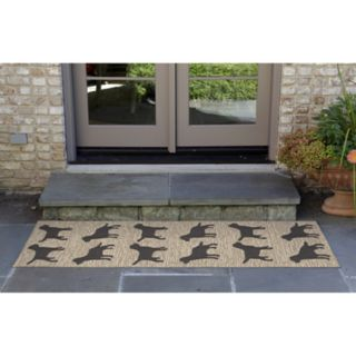 Liora Manne Frontporch Doggies Indoor Outdoor Rug
