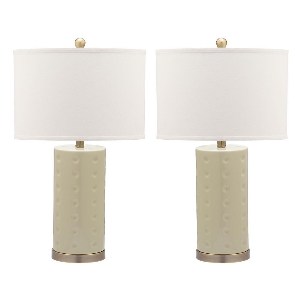 Safavieh 2-piece Roxanne Table Lamp Set