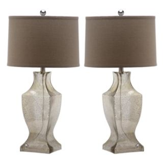 Safavieh 2-piece Glass Lamp Set