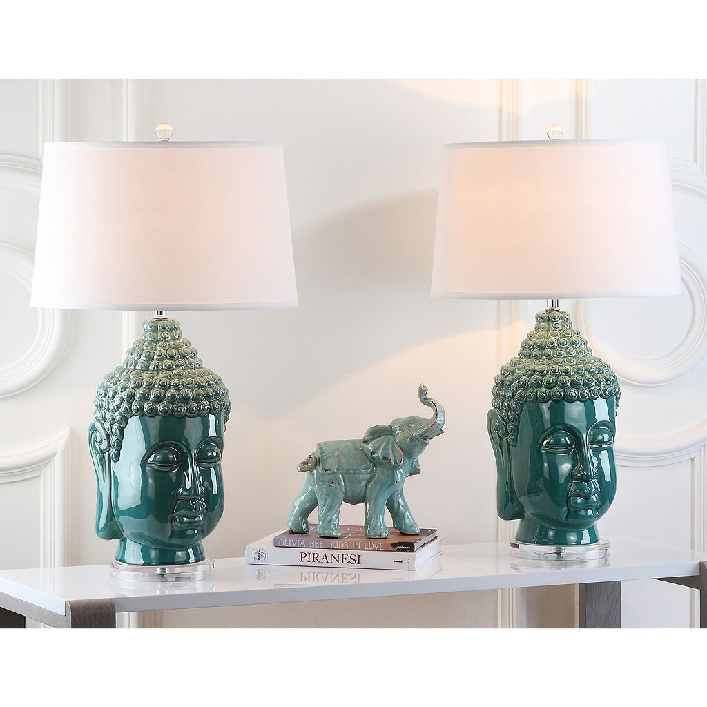 Safavieh 2-piece Serenity Buddha Table Lamp Set