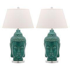 Safavieh 2 pc Serenity Buddha Table Lamp Set